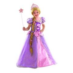 Ραπουνζέλ στολή η ωραία πριγκίπισσα με την μακριά κοτσίδα
