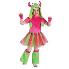 Sweet Monster στολή για κορίτσια το Γλυκό fluffy Τερατάκι