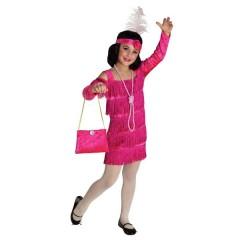 Τσάρλεστον Βασίλισσα ροζ στολή για κορίτσια