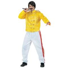 Φρέντι Μέρκιουρι στολή τραγουδιστή για ενήλικες