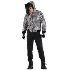 Emo αγόρι στολή ενηλίκων με κουκούλα