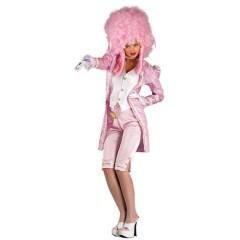Αντουανέτα σέξι ροζ γυναικεία στολή με παντελόνι