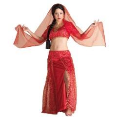 Bollywood στολή ενηλίκων Ινδή