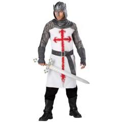 Ιππότης του Ναού στολή για ενήλικες άντρες Σταυροφόρου
