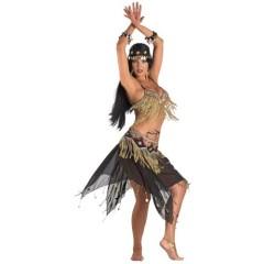 Λέϊλα στολή χανούμισσας ενηλίκων με χάνδρες