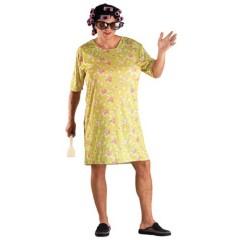 Νοικοκυρά χαρούμενη Κυρά αστεία στολή για ενήλικες με μπικουτί