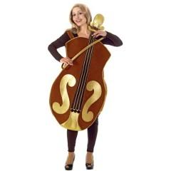 Βιολί αστεία στολή ενηλίκων και αυτή το βιολί της