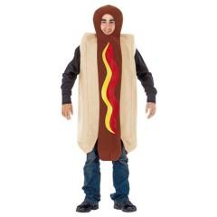 Hot Dog αστεία στολή σάντουιτς με λουκάνικο για ενήλικες