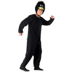 Κοράκι μαύρη ολόσωμη στολή για ενήλικες