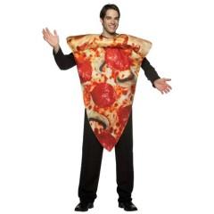 Πίτσα αστεία στολή ενηλίκων κομμάτι πίτσας