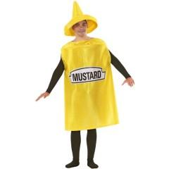 Μουστάρδα στολή για ενήλικες