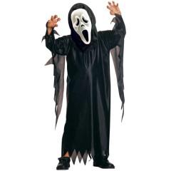 Φάντασμα στολή scream με μάσκα για αγόρια