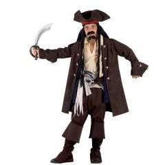 Πειρατής Των 7 θαλασσών Jack αγορίστικη lux στολή με σακάκι