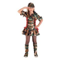 Στρατιωτίνα trendy στολή για κορίτσια Κομάντο