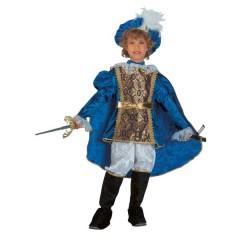 Βασιλόπουλο γαλάζια στολή για αγόρια
