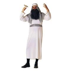 Άραβας Σεΐχης λευκή στολή ενηλίκων