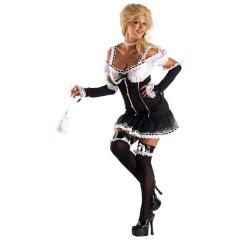 Καμαριέρα Gothic στολή ενηλίκων