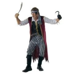 Πειρατής με γιλέκο στολή ενηλίκων