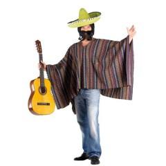Πόντσο Μάλλινο Μεξικάνου στολή ενηλίκων