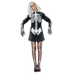 Σκελετούλα στολή ενηλίκων