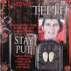 Δόντια δράκουλα θεατρικά