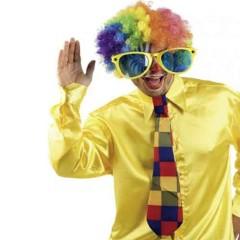 Γραβάτα Κλόουν πολύχρωμη