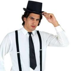 Γραβάτα μαύρη 35εκ