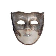 Μάσκα Paper Mache σε δύο χρώματα γυναικείο πρόσωπο