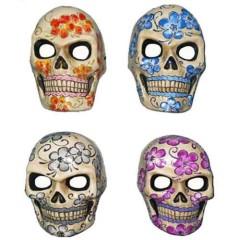 Μάσκα Paper Mache Σκελετός η μέρα των Νεκρών