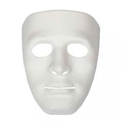 Μάσκα Άσπρη Ανδρικό πρόσωπο