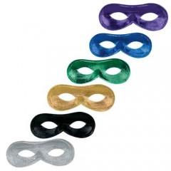 Μάσκα Ματιών σε 6 χρώματα οβάλ κλασική