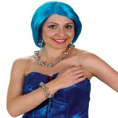 Κοσμήματα Disco βραχιόλι,σκουλαρίκια,κολιέ set