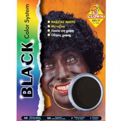 Μακιγιάζ Μαύρο χρώμα