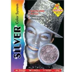 Μακιγιάζ με glitter Ασημένιο