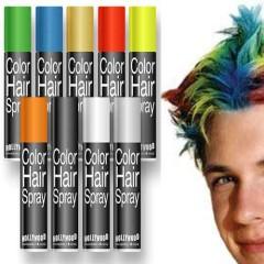 Σπρέι βαφής μαλλιών σε οχτώ χρώματα