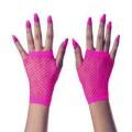 Γάντια Κοντά Διχτυωτά Φούξια 10 εκ.