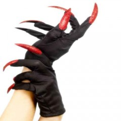 Γάντια Με Νύχια σε δύο χρώματα