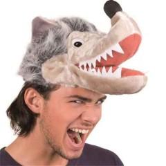 Καπέλο αστείο Λύκου Με Γούνα