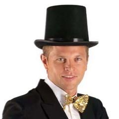 Καπέλο Ημίψηλο Μαύρο Τσόχινο