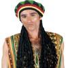 Καπέλο Ράστα πλεχτό Με Περούκα