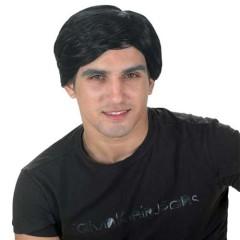 Περούκα Κοντή μαύρη