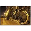 Πίνακας διακοσμητικός με led φως ποδήλατο 80x50cm