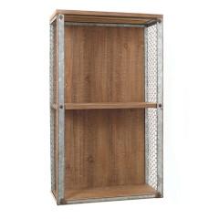 Ράφι από ξύλο και σύρμα παραλ/μο  61,5cm