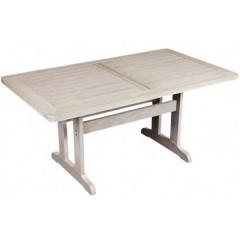 Δίας Ξύλινο 180x90cm τραπέζι οξιάς σταθερό σε 5 χρώματα