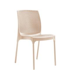 Parker καρέκλα πολυπροπυλενίου στοιβαζόμενη