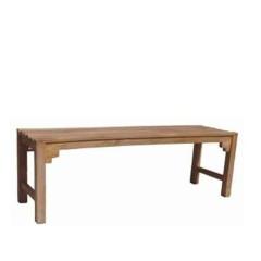 Διθέσιο παγκάκι ξύλινο από teak