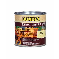 Λάδι συντήρησης ξύλου για έπιπλα κήπου Bondex Teak Oil 0.50ml