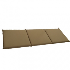 Μαξιλάρι για καναπέ και κούνια τριθέσιο καφέ Eco line camel