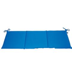 Μαξιλάρι για καναπέ και κούνια τριθέσιο μπλε Eco line blue