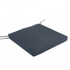 Μαξιλάρι καθίσματος έδρας για καρέκλα μονόχρωμο γκρι Lux grey